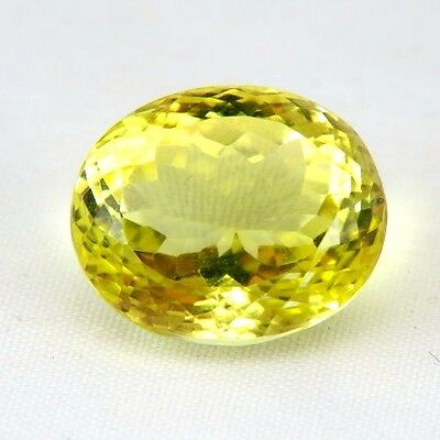 TOP LEMON CITRINE : 18,13 Ct Natürlicher Lemon Citrin aus Madagaskar
