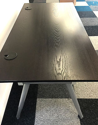 Ikea Galant Desks Black Brown W A Legs 63 X 32