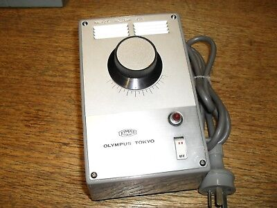 Vintage collectable Olympus microscope power supply