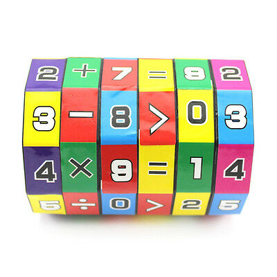1x Children's Educational Toys Learning Math Digital Cube Toy Kids Brain Game 、