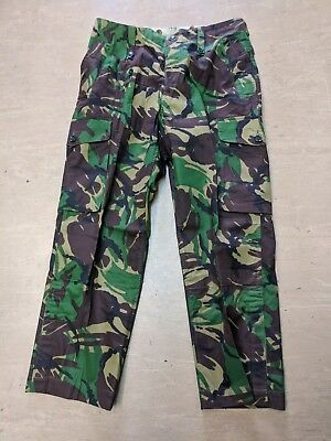 NEW Genuine British Army Issue Woodland DPM Arctic Windproof Combat Trousers UK