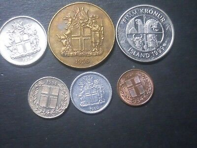 3576  -  Iceland  - Six Coins