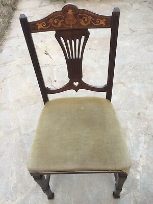 Two Reproduction Antique Chairs