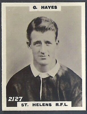 Pinnace Football-Pinnace Back-#2127- Rugby - St. Helens R.f.l. - G. Hayes