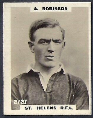 Pinnace Football-Pinnace Back-#2121- Rugby - St. Helens R.f.l. - A. Robinson