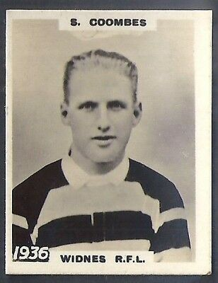 Pinnace Football-Pinnace Back-#1936- Rugby - Widnes R.f.l - S. Coombes