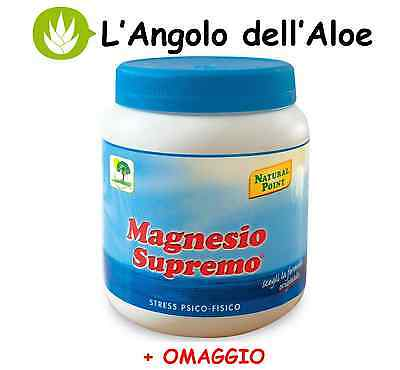 MAGNESIO SUPREMO NATURAL POINT - 1 paquete de 300g + REGALO