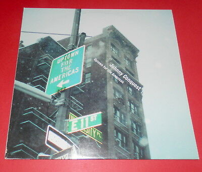 Johnny Conquest -- Uptown for the americas  -- LP / Electro