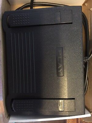 Infinity Series Transcriber Dictation Foot Pedal for Lanier (Lot of 2!!!)