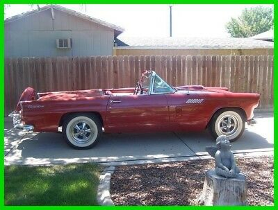 1956 Ford Thunderbird Hard-top Soft-Top, One Owner 1956 Ford Thunderbird Convertible, 351 Windsor V8, Automatic Trans, One Owner