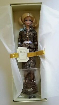 Ltd Edition Silkstone Barbie Tweed Indeed Fashion Model Collection Gold Label