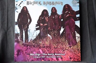 "Black Sabbath War Pigs The Early Sessions Aug 1969 - Sept 1970 12"" vinyl LP New"