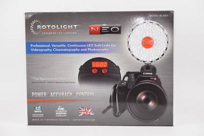 LNIB MINT ROTOLIGHT NEO PHOTO/VIDEO CONTINUOUS LED LIGHT w/CINEMATIC EFFECTS