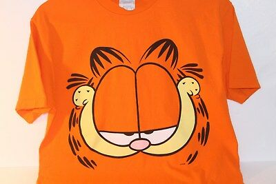Garfield T-Shirt bright orange excellent condition