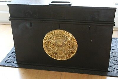 Old Milners Fire Proof Chest Safe
