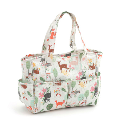 Hobby Gift 'Woodland' Matt PVC Craft Bag 12.5 x 39 x 35cm (d/w/h)
