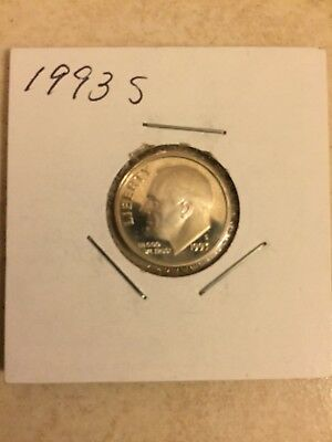 1993 S Silver 10C (Proof) Roosevelt Dime