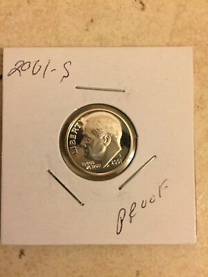 2001 S Silver 10C (Proof) Roosevelt Dime