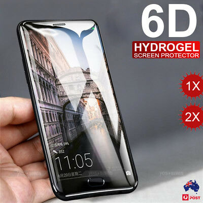 HYDROGEL Aqua Flexible Screen Protector for Samsung Galaxy S10 S9 S8 Plus S7 9 8