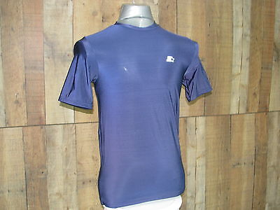 Starter UniSex Blue Athletic Star Fit Shirt Size S