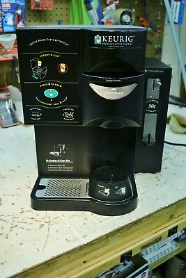 KEURIG Commercial K-Cup Brewer Model--B2003 w/ Coin Box & Water Filter System