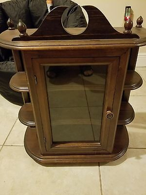 Pre loved Elegant Home Fashions vintage  Medicine Cabinet with One Glass Door