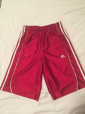 Adidas Dazzle Shorts Youth Large in Red