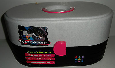 Vintage BRAND NEW! CABOODLES Makeup Cosmetics Case Travel Organizer Retro 90s