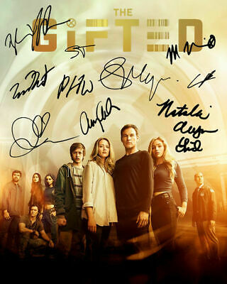 the Gifted Natalie Alyn Lind Amy Acker TV Cast Signed Photo Autograph Reprint