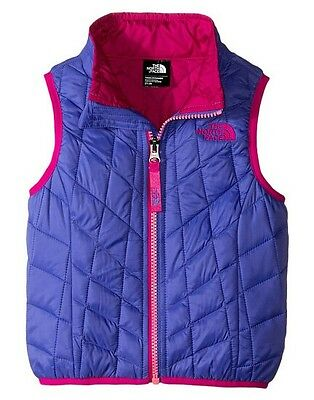 New! The North Face ThermoBall Vest.   Toddler girl Size 2T. Starry Purple.