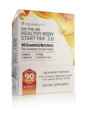 Youngevity On The Go Healthy Body Start Pak 2.0 30 packets from Gevity
