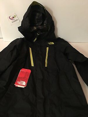 AUTHENTIC The North Face Coat, Black/ Neón Youth Size 10/12