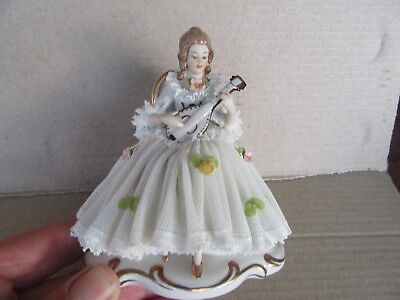 Dresden Lace Figurine - Muller