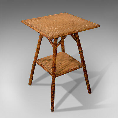 Late 19th Century Antique Bamboo Table, Oriental, Victorian Circa 1890