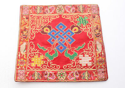 Endless Knot Altar Cloth Heavy Embroidered Purely Handmade