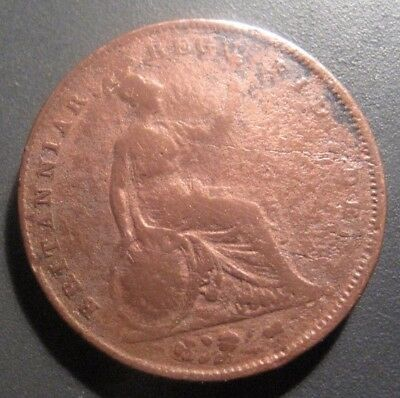 Old World coins - 2 pence 1800's (7857)