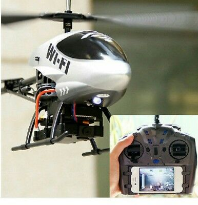 #SundayMarket App 3CH 1.3mil Pixels Wifi Camera RC Helicopter Gyro IOS&Android