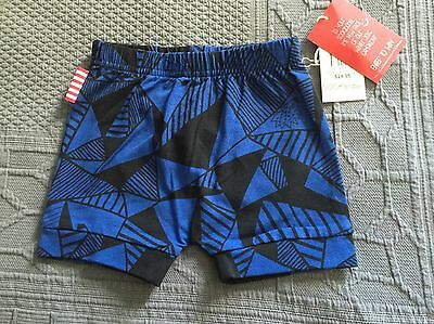 BNWT, baby boy's SOOKIbaby blue/black shorts. Size 0  RRP$24.95.  FREE POST