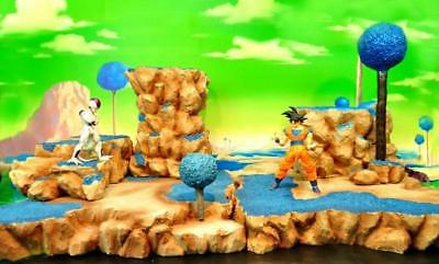 Dragon Ball Z DBZ Goku Mountain Massif Namek Scene Diorama Resin Display Be