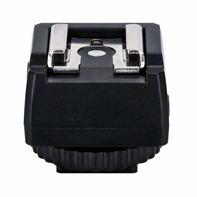 JJC Standard Hot Shoe Adapter with Extra PC sync connection Port & 3.5mm Mini to