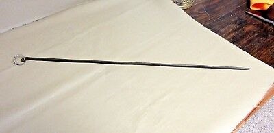 Antique French Iron Skewer-Hand Forged for Fireplace Cooking-OLD! Big! Kitchen