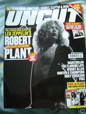 Uncut Magazine 96 May 2005 - Zeppelin, Plant, Stooges, MC5, Bolan