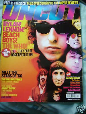 Uncut Mag No. 105  Feb 2006 - Dylan, Beach Boys, The Who, 1966 Rock Revolution