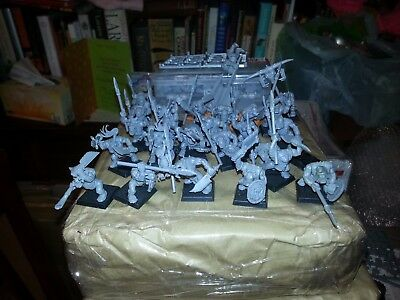 Warhammer/AOS 32 Orc Boyz with Spears including command