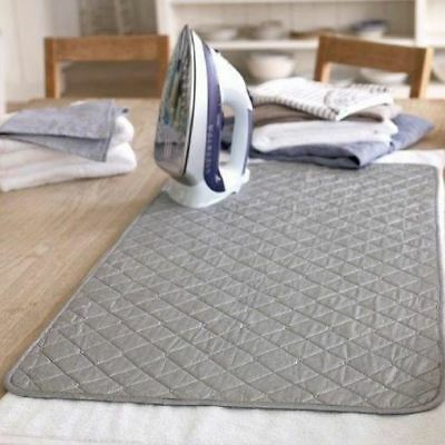 Foldable Easy Ironing Board Mat Cover Folding Iron Anywhere With Magnetic Corner