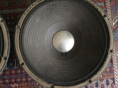 JBL K-140 16 ohm woofers - 15 inch. Auction is for one only - 1 available