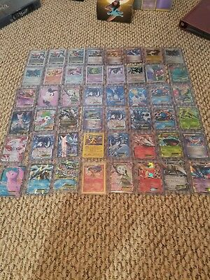 3 Card Pokemon Lot GUARANTEED 3 Ultra Rares EX, LV X, FULL ART, BREAK, SECRET