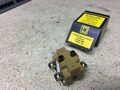 Square D Contact Block  9001 Type TB