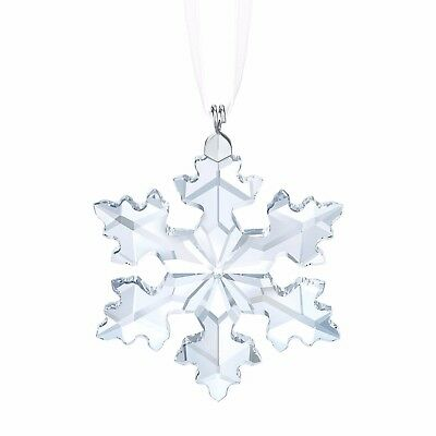 2016 Swarovski Annual Christmas Small Star Snowflake Ornament Crystal 5180211