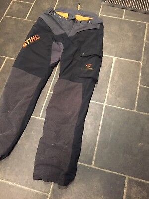 Stihl Chainsaw Trousers Forest Wear HiFlex Design C Class 1 Size Large